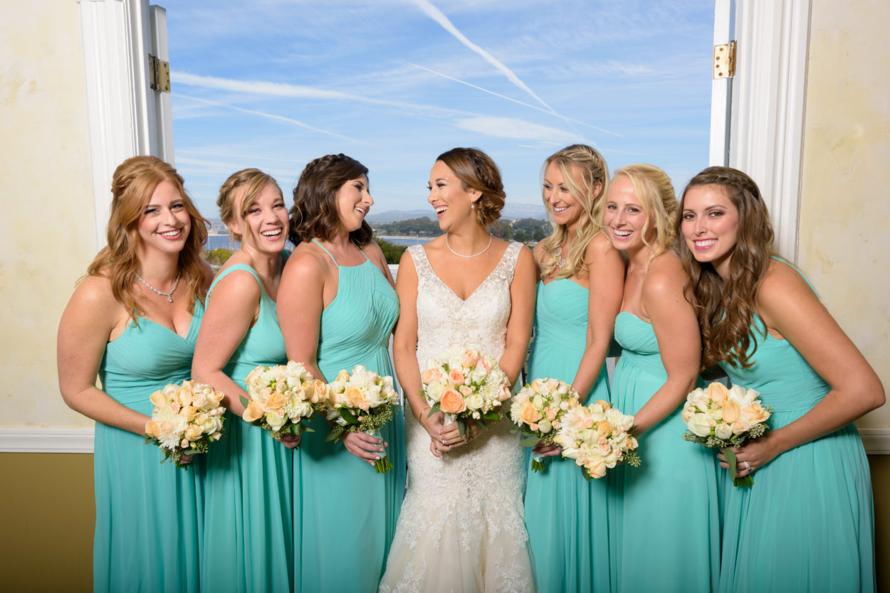Perry House Bridal Party Monterey