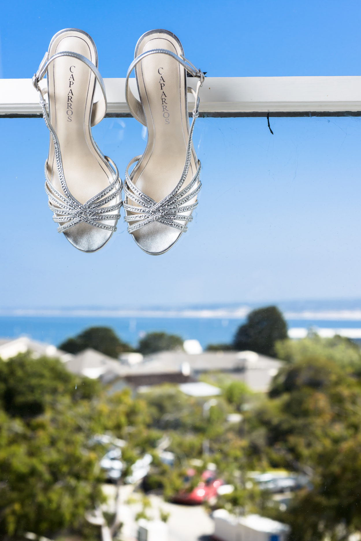 Wedding Shoes in Perry House Window