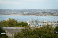 View of Harbor from Perry House Private Events Venue Monterey