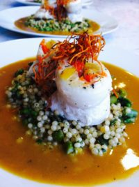 Monterey Sand Dabs with Couscous