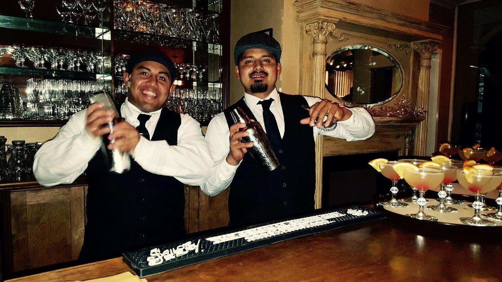 Perry House Bartenders at Speakeasy Bootleggers Ball