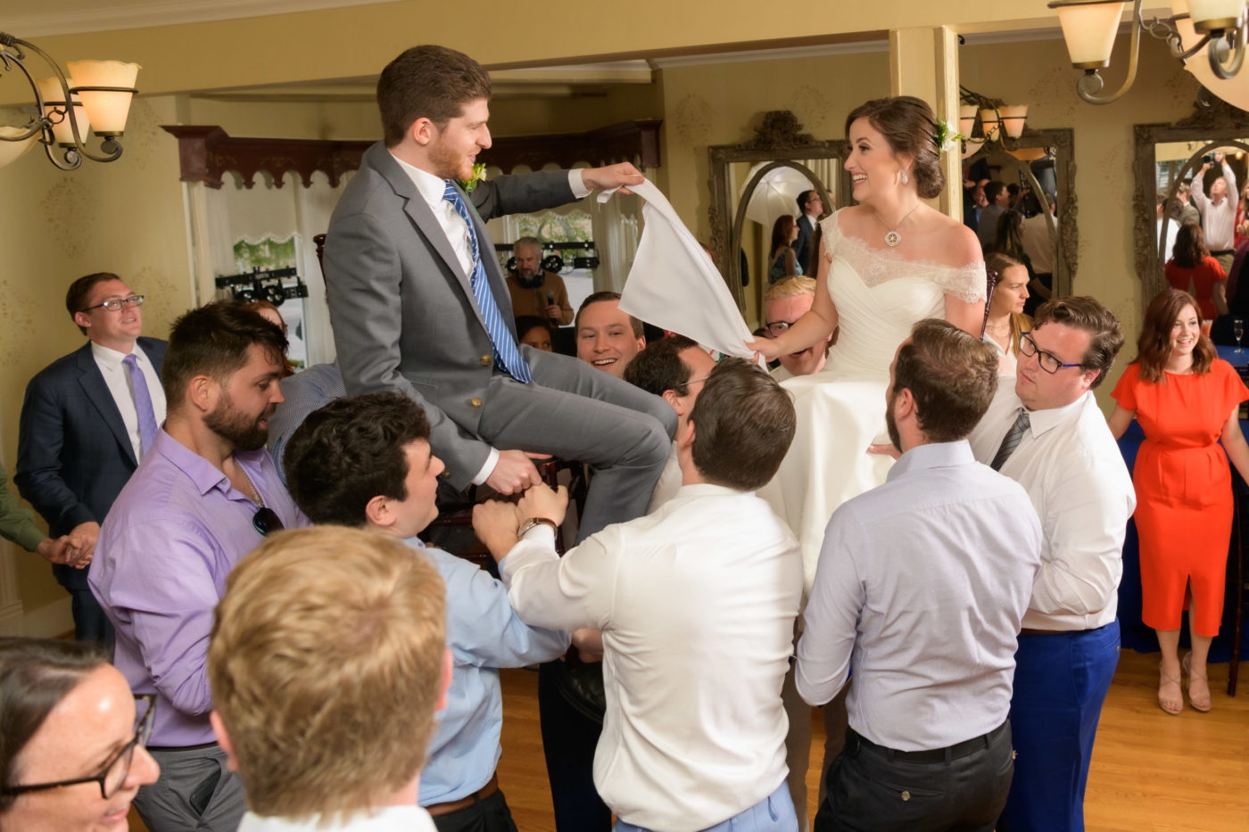 Wedding Celebration at Perry House