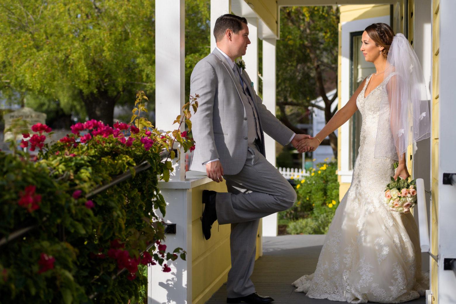 Perry House Wedding Couple